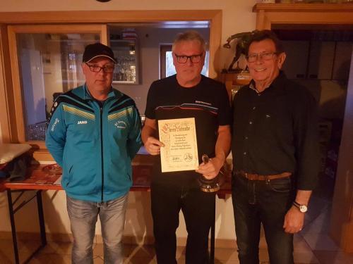 50 Jähriges Mitglied - Hartwig Felgenhauer